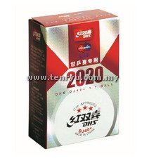 DHS - WTTC Busan 2020 DJ40+ 3 Star Balls