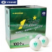 Yinhe - 1 Star Plastic with Seam 40+ Ball