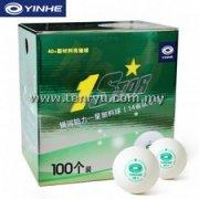 Yinhe - 1 Star Plastic with Seam 40+ Ball