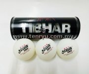 Tibhar Logo Ball Box with DHS 3 Star CD40+ Cell-Free ABS Ball