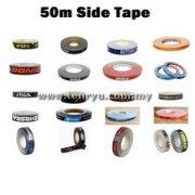 All Brand Logo Side Tape (50m)