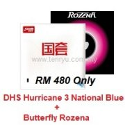 DHS Hurricane 3 National + Butterfly Rozena