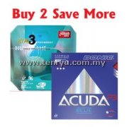 Donic Acuda Blue P3 + DHS Hurricane 3 Neo