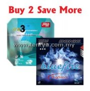 Donic Bluefire Big Slam + DHS Hurricane 3 Neo