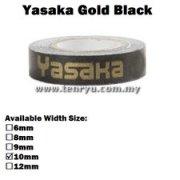 Yasaka - Gold Side Tape (0.5m)
