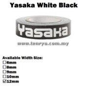 Yasaka - White Side Tape (0.5m)