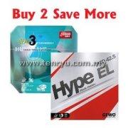 Gewo Hype EL Pro 42.5 + DHS Hurricane 3 Neo