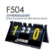DHS - F504 Scoreboard